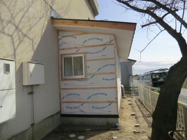学童トイレ増築